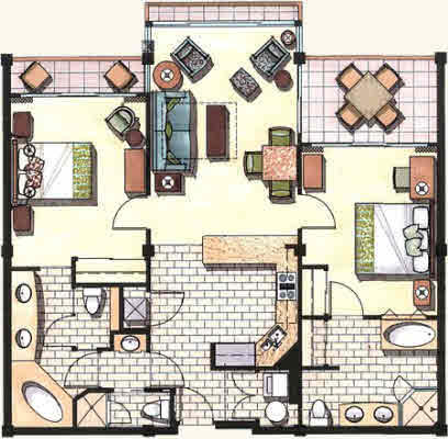 Palms 2 Bedroom Suite Floor Plan U2013 Home Ideas Decor